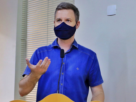 'Lei da Transparência Municipal não está sendo cumprida', cobra vereador Rafael de Angeli