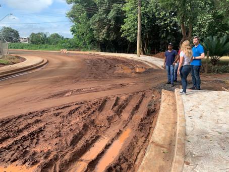 Obras de pavimentação da Chácara Flora geram transtornos