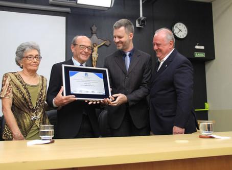 Odilo Rios recebe título de Cidadão Araraquarense