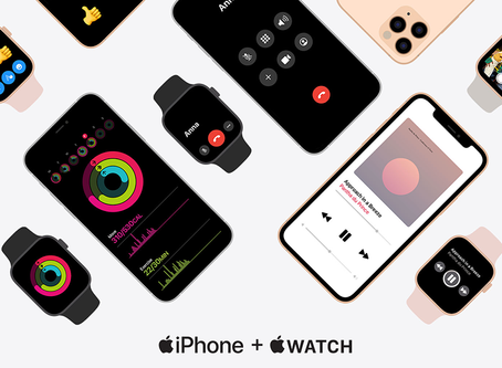 Site da Apple promove benefícios exclusivos da integração do iPhone com o Apple Watch