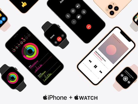 Site da Apple promove benefícios exclusivos da integração do iPhone com o Apple Watch