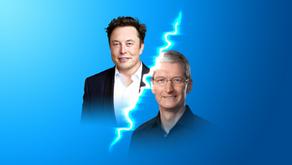 Tim Cook supostamente xingou Elon Musk, que exigiu ser CEO da Apple