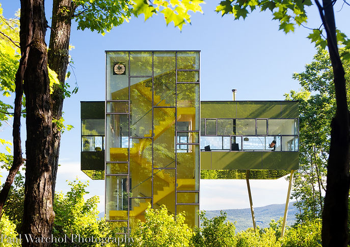 Glass house for film & photography NY