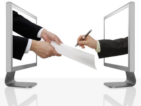 Medida Provisória simplifica assinatura digital de documentos públicos e elimina papel