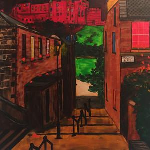 'The Miss Jean Brodie Steps,' Edinburgh | £275