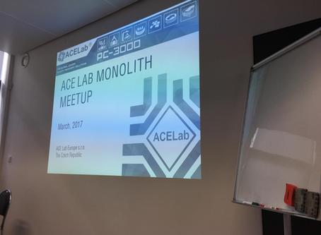 Primer encuentro sobre recuperación de datos de dispositivos Monolíticos