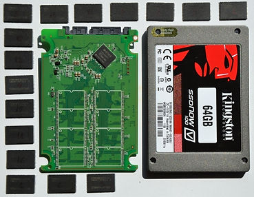 Recuperación de datos disco SSD kingston
