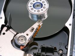 Interior de disco duro