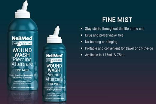 NeilMed Pircing Aftercare