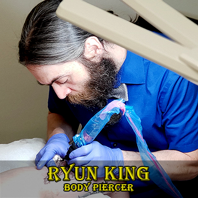 Body Piercer Ryun King