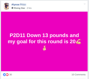 Alyssa lost 13 pounds in 11 days on HCG 2.0
