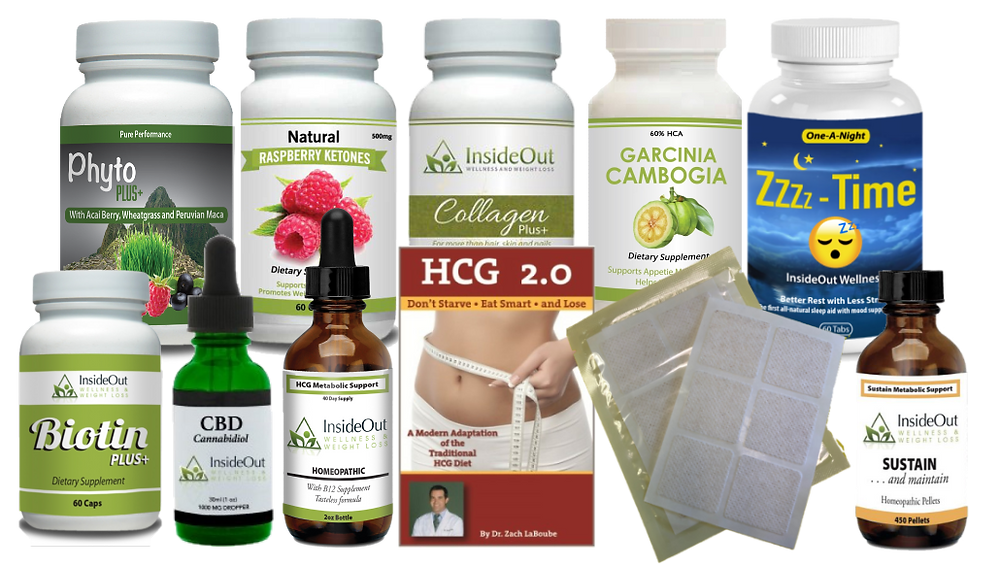 Vitamin supplements designed to improve your hcg diet weight loss