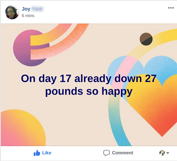 lost 27 pounds in 17 days with HCG
