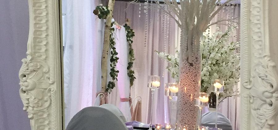 Décoration de mariages, anniversaires, galas, évènements