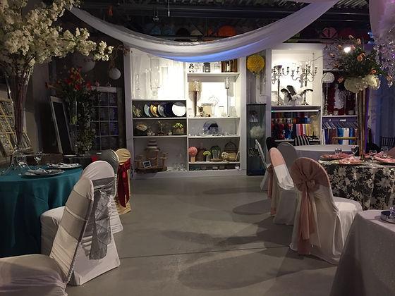 Décorations d'évènements Montréal Event Decor mariage weddin