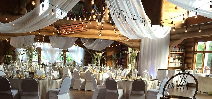 Décoration mariage wedding decor Tremblant - Déco Évènements