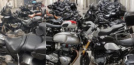 France Moto Road Trip - garage moto