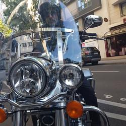 Harley Davidson Motorcycle Closeup