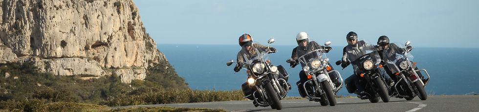 Motorcyclists France Motorrad