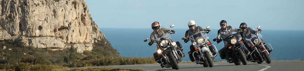 Motorcyclists France Motorrad
