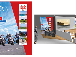 FRANCE MOTO ROAD TRIP, the only organizer of all-inclusive motorcycle tours in France participates i