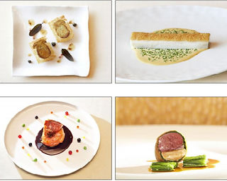 Beautiful gastronomy Michel Troisgros