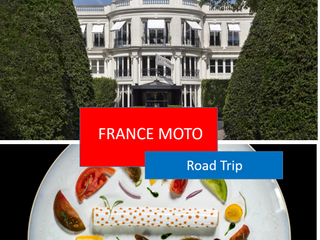 Palaces and Etoilés circuit, the one and only french all inclusive and ultra luxe moto trip tour !