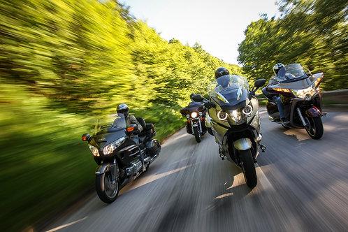 One Day Motorcycle Tour around Paris