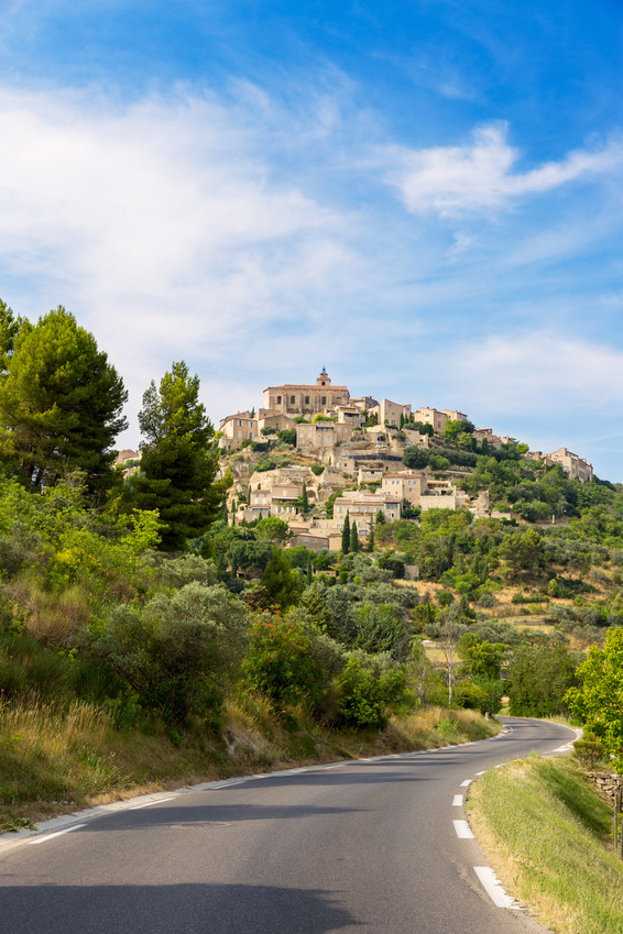 Village on French Riviera