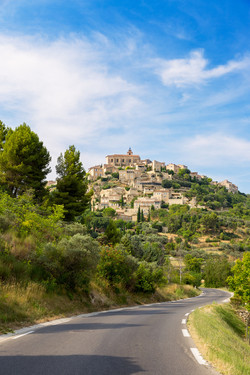 Village on French Riviera