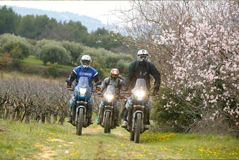 France Moto Road Trip - Off Road  Circuit Diagonale mediterranee à moto - francemotoroadtrip.com