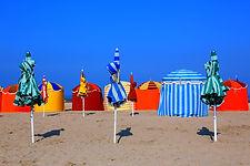 France Moto Roadtrip - Plages&Champagne - Les plages de Deauville