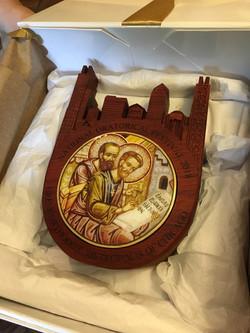 Gift for Metropolitan Nathanael