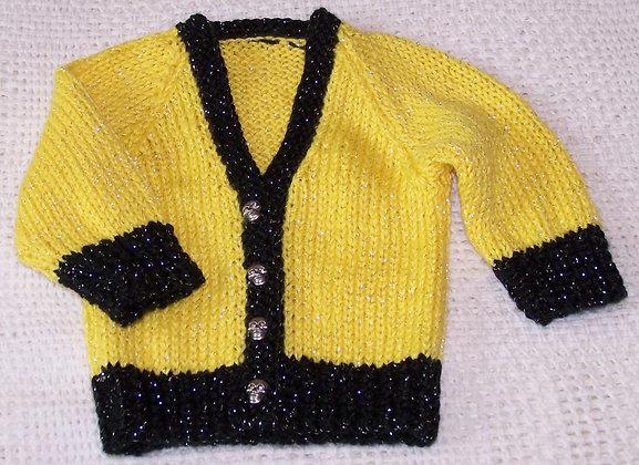 Halloween Baby Sweater