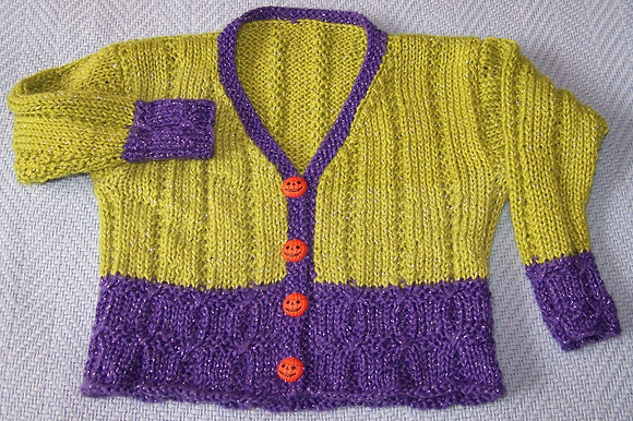 Monstrously Endearing Baby Sweater
