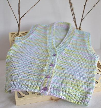 Baby's V-Neck Pullover Vest