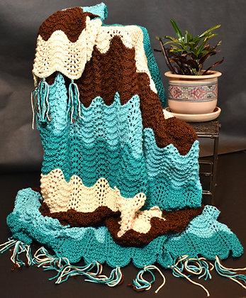 Southwest Waves Blanket