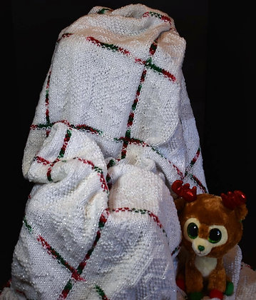 Christmas Snowflakes Blanket