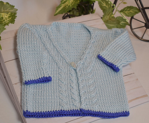 Baby Cables Sweater