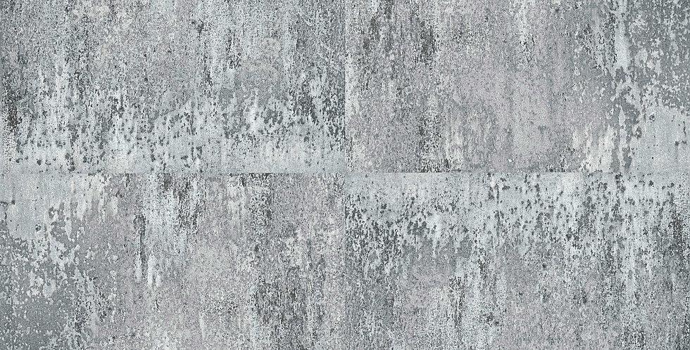 Tapet imitatie placi simetrice din beton in nuante de gri