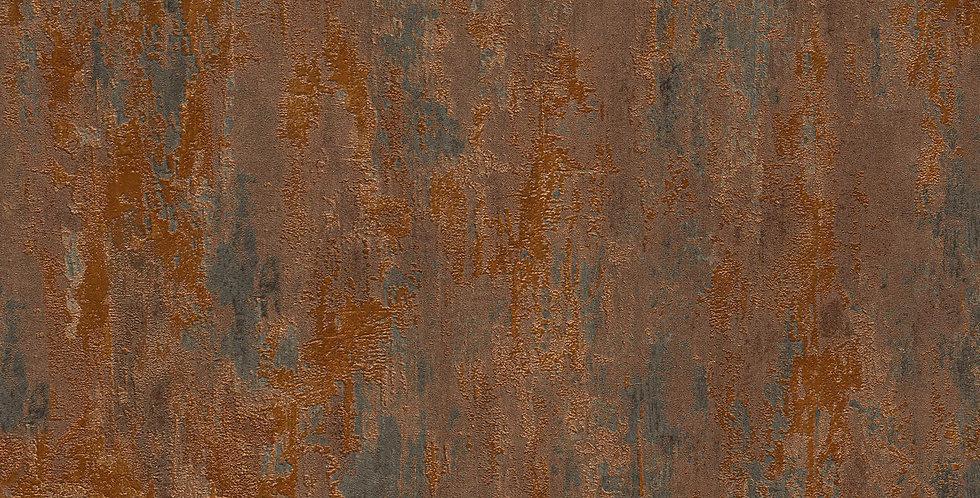 Tapet imitatie metal oxidat / rugina
