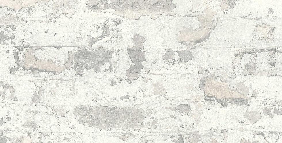 Tapet care imita zidaria din caramida in nuante gri