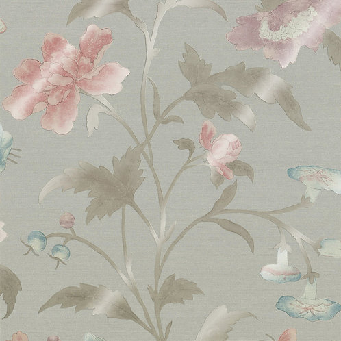 China Rose - French Grey Lustre Mostra