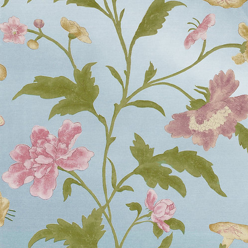 China Rose - Blue Lustre Mostra