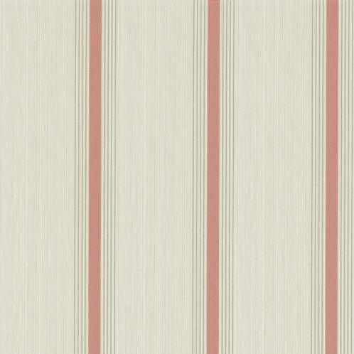 Cavendish Stripe - Brush Red