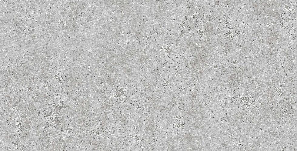 Tapet care imita betonul in nuante de gri cu insertii lucioase