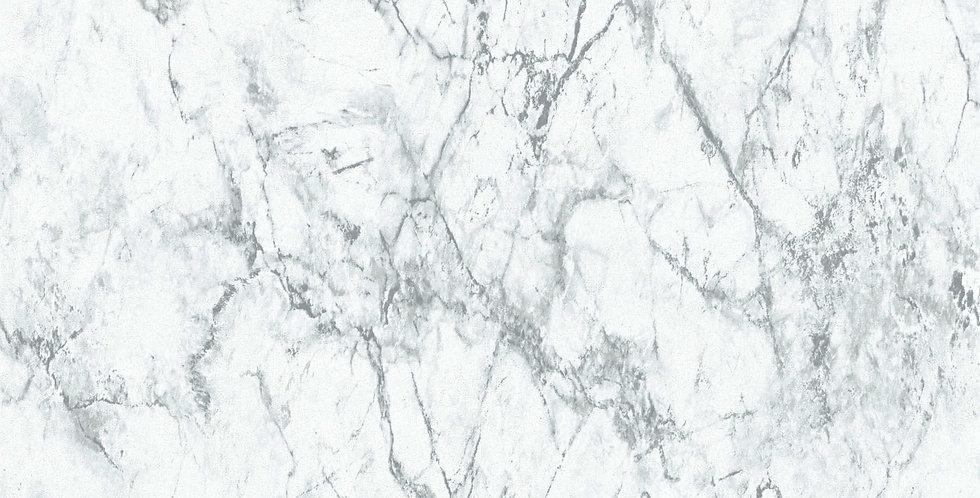 Tapet imitatie de marmura in nuante de alb si gri