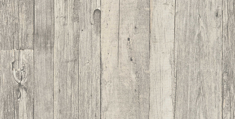 Tapet care imita lemnul vechi intr-un mod natural, in nuante de crem, bej si gri