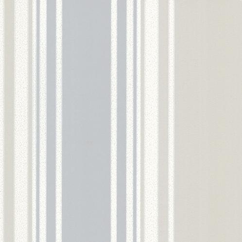 Tented Stripe - Rubine Ash