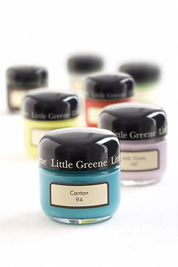Mostre vopsea Little Greene